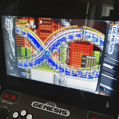 Borne d'arcade Sega